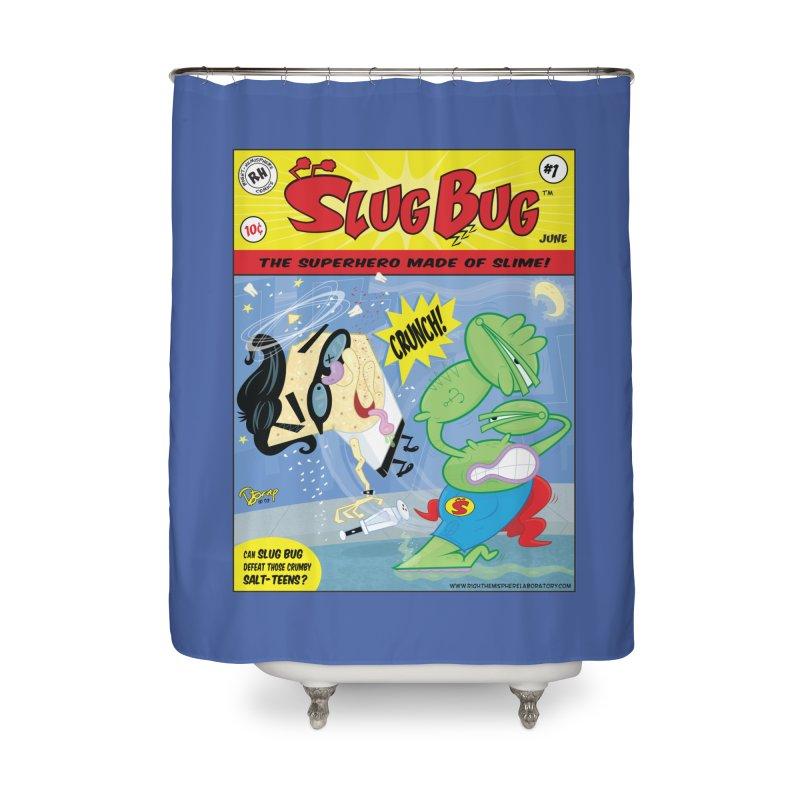 SlugBug Home Shower Curtain by righthemispherelaboratory's Shop