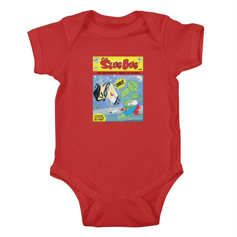 SlugBug Kids Baby Bodysuit by righthemispherelaboratory's Shop