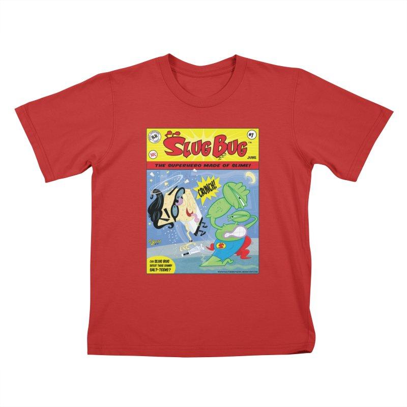 SlugBug Kids T-Shirt by righthemispherelaboratory's Shop