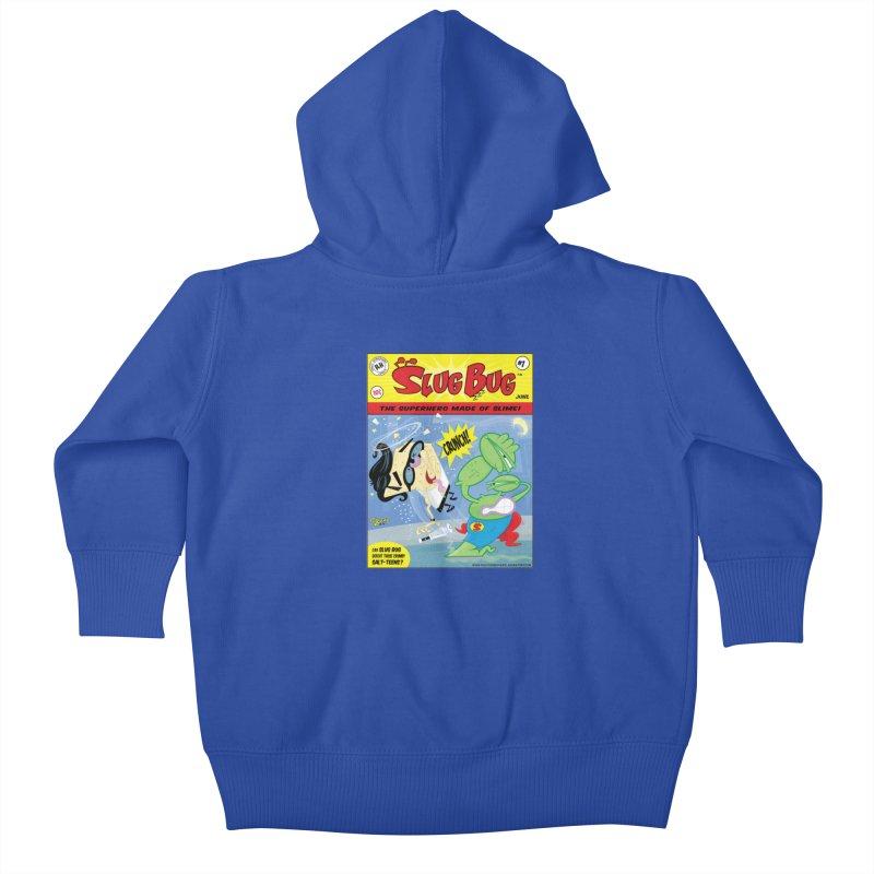 SlugBug Kids Baby Zip-Up Hoody by righthemispherelaboratory's Shop
