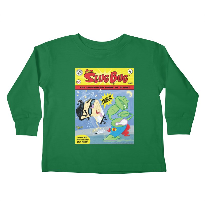 SlugBug Kids Toddler Longsleeve T-Shirt by righthemispherelaboratory's Shop