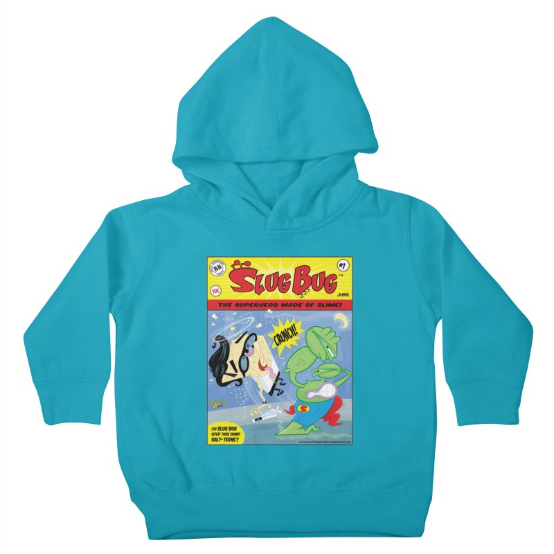 SlugBug Kids Toddler Pullover Hoody by righthemispherelaboratory's Shop