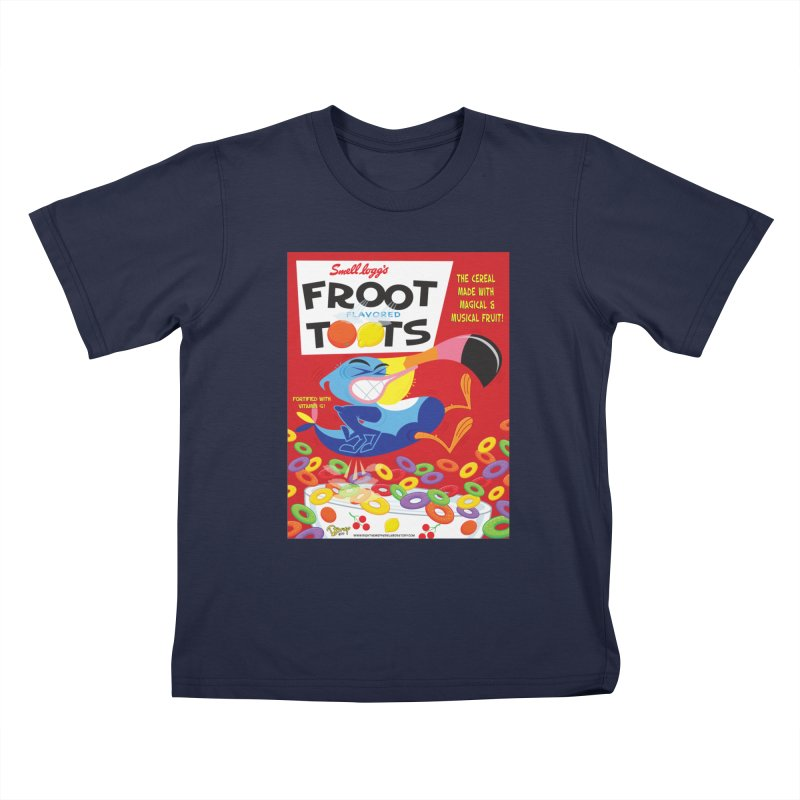 Froot Toots Kids T-Shirt by righthemispherelaboratory's Shop