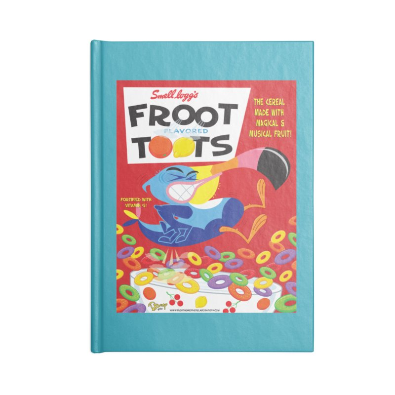 Froot Toots Accessories Notebook by righthemispherelaboratory's Shop