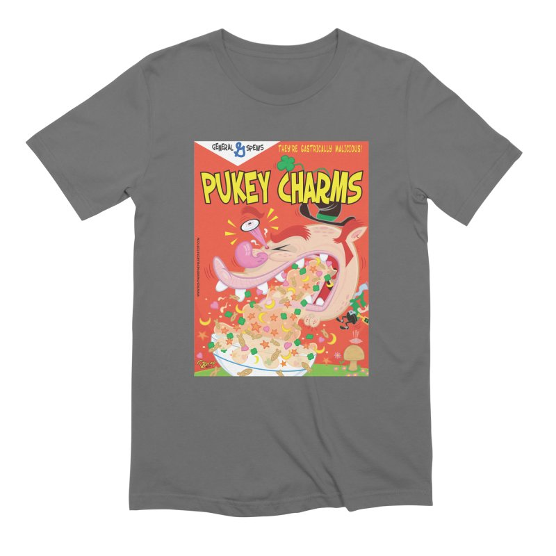 Pukey Charms Men's T-Shirt by righthemispherelaboratory's Shop