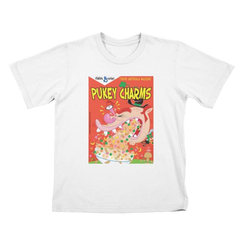 Pukey Charms Kids T-Shirt by righthemispherelaboratory's Shop