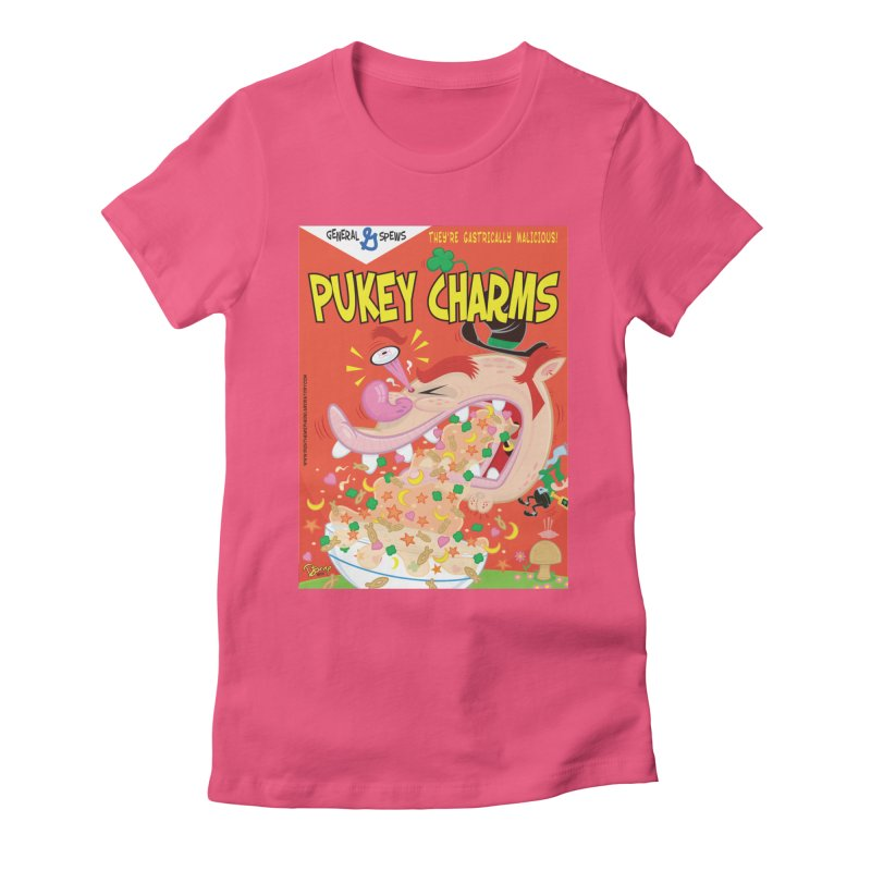Pukey Charms Women's T-Shirt by righthemispherelaboratory's Shop