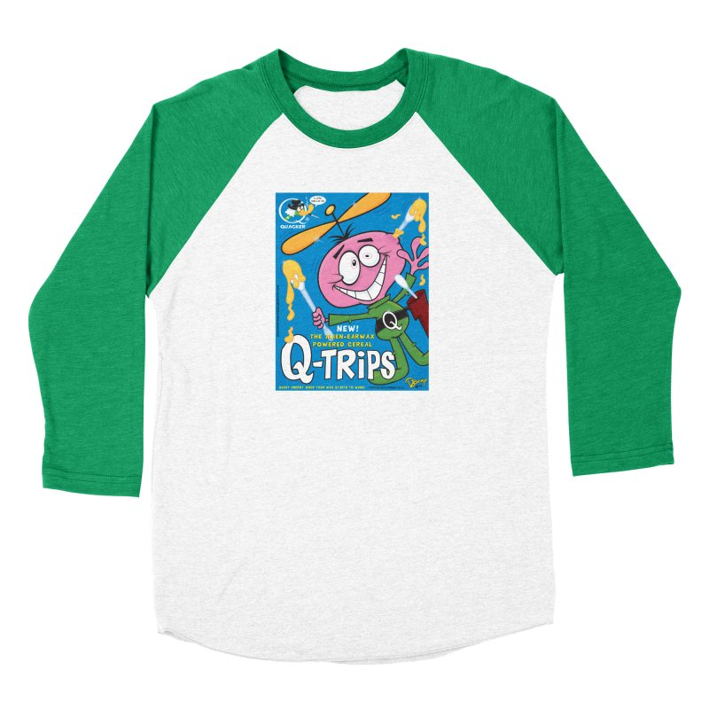 Q-Trips Cereal Women's Longsleeve T-Shirt by righthemispherelaboratory's Shop