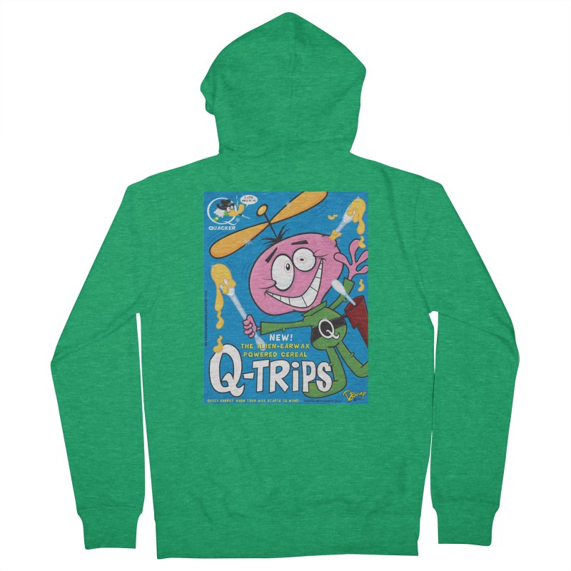 Q-Trips Cereal Women's Zip-Up Hoody by righthemispherelaboratory's Shop