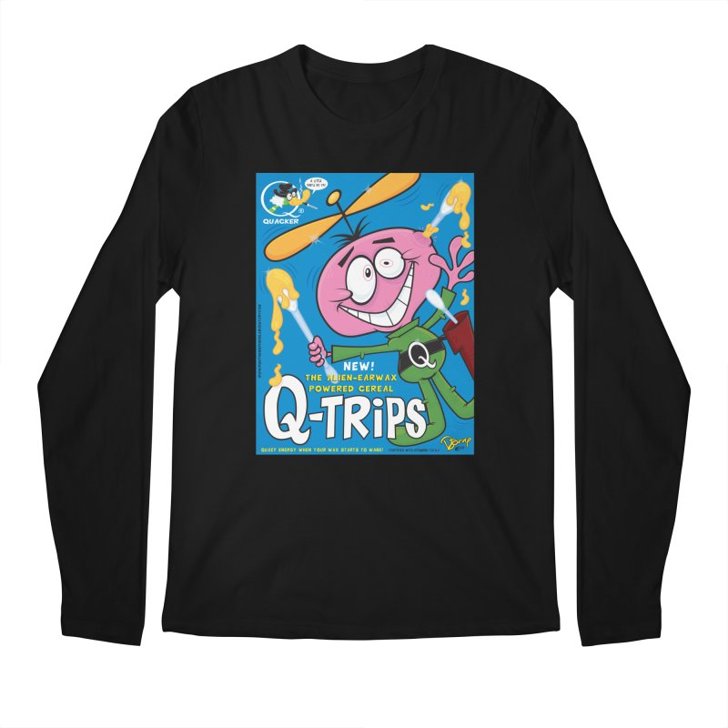 Q-Trips Cereal Men's Regular Longsleeve T-Shirt by righthemispherelaboratory's Shop