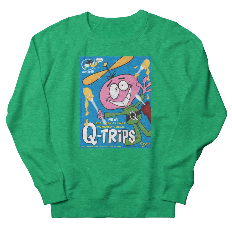 Q-Trips Cereal Women's Sweatshirt by righthemispherelaboratory's Shop