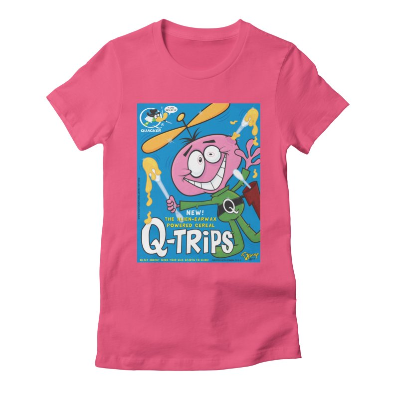 Q-Trips Cereal Women's T-Shirt by righthemispherelaboratory's Shop