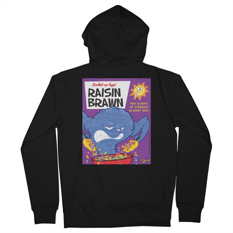 Raisin Brawn Men's Zip-Up Hoody by righthemispherelaboratory's Shop