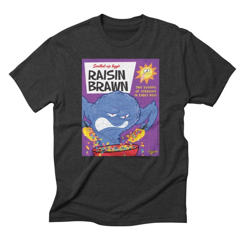 Raisin Brawn Men's Triblend T-Shirt by righthemispherelaboratory's Shop