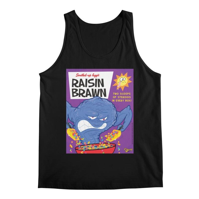 Raisin Brawn Men's Regular Tank by righthemispherelaboratory's Shop