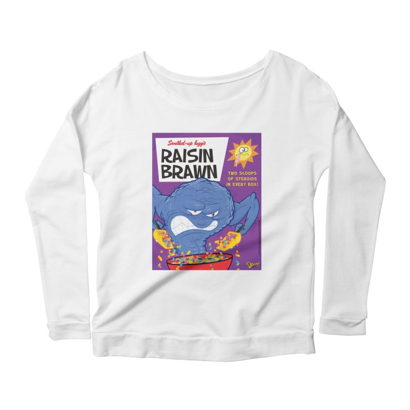 Raisin Brawn Women's Longsleeve T-Shirt by righthemispherelaboratory's Shop