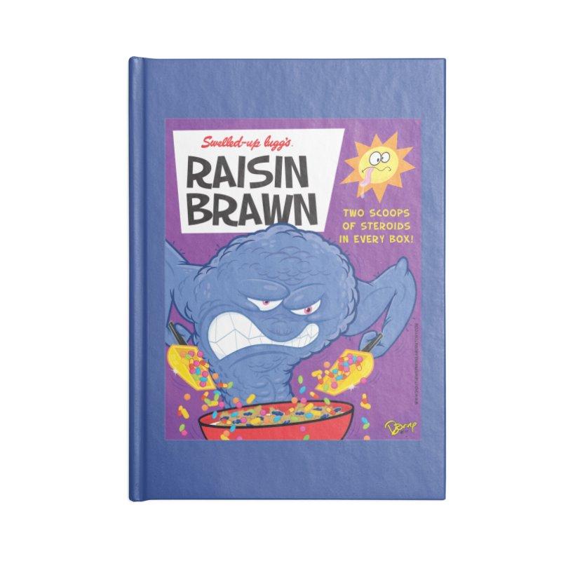 Raisin Brawn Accessories Notebook by righthemispherelaboratory's Shop