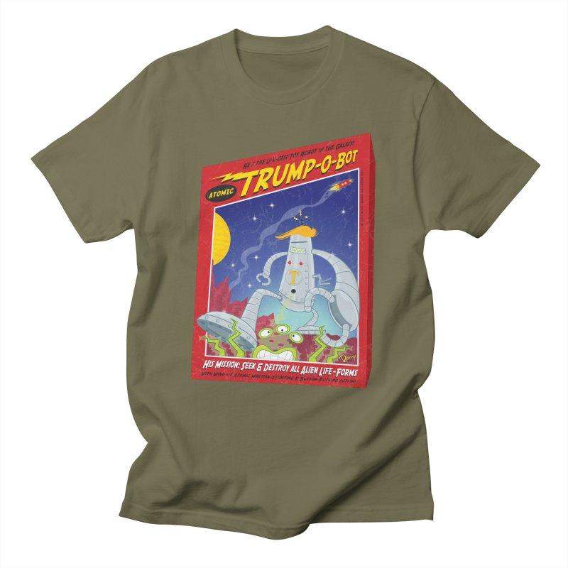 Trump-O-Bot Men's T-Shirt by righthemispherelaboratory's Shop