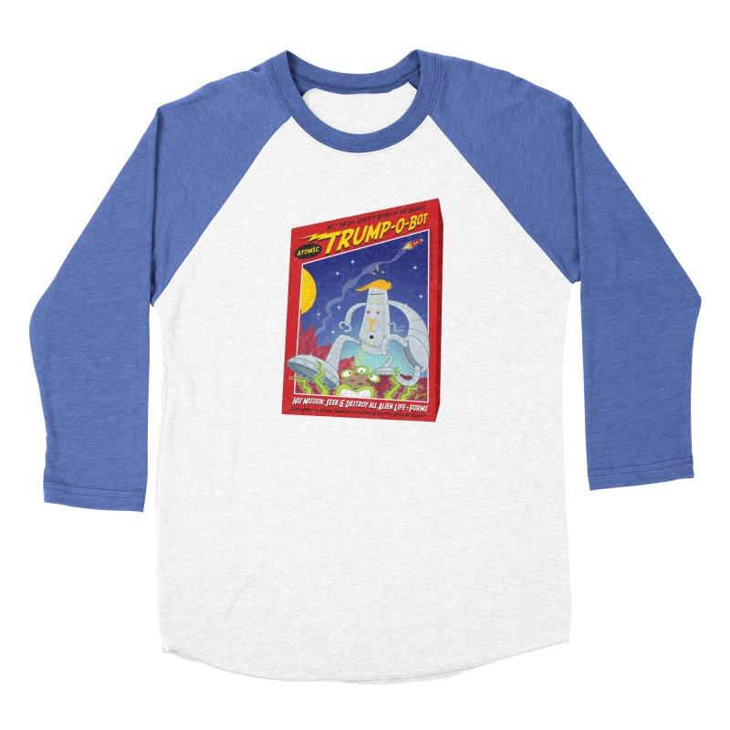 Trump-O-Bot Men's Baseball Triblend Longsleeve T-Shirt by righthemispherelaboratory's Shop