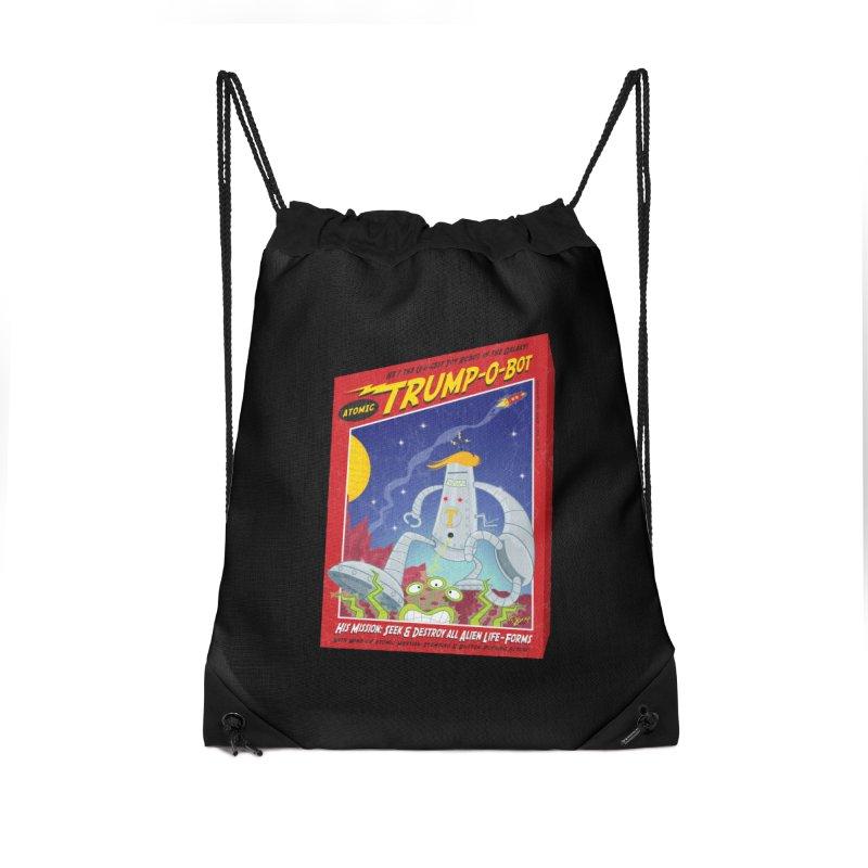 Trump-O-Bot Accessories Bag by righthemispherelaboratory's Shop