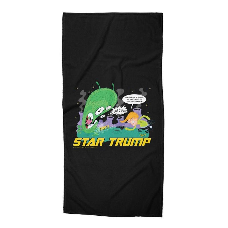 Star Trump Accessories Beach Towel by righthemispherelaboratory's Shop