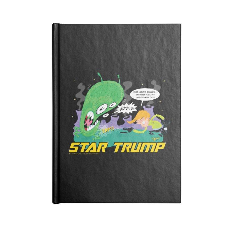 Star Trump Accessories Notebook by righthemispherelaboratory's Shop