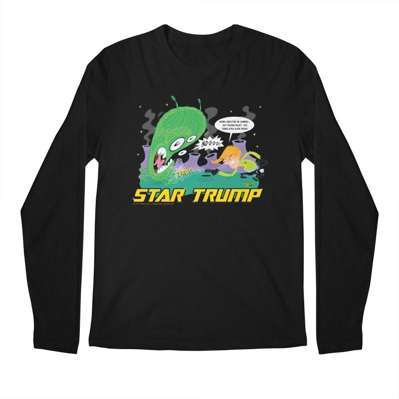 Star Trump Men's Regular Longsleeve T-Shirt by righthemispherelaboratory's Shop