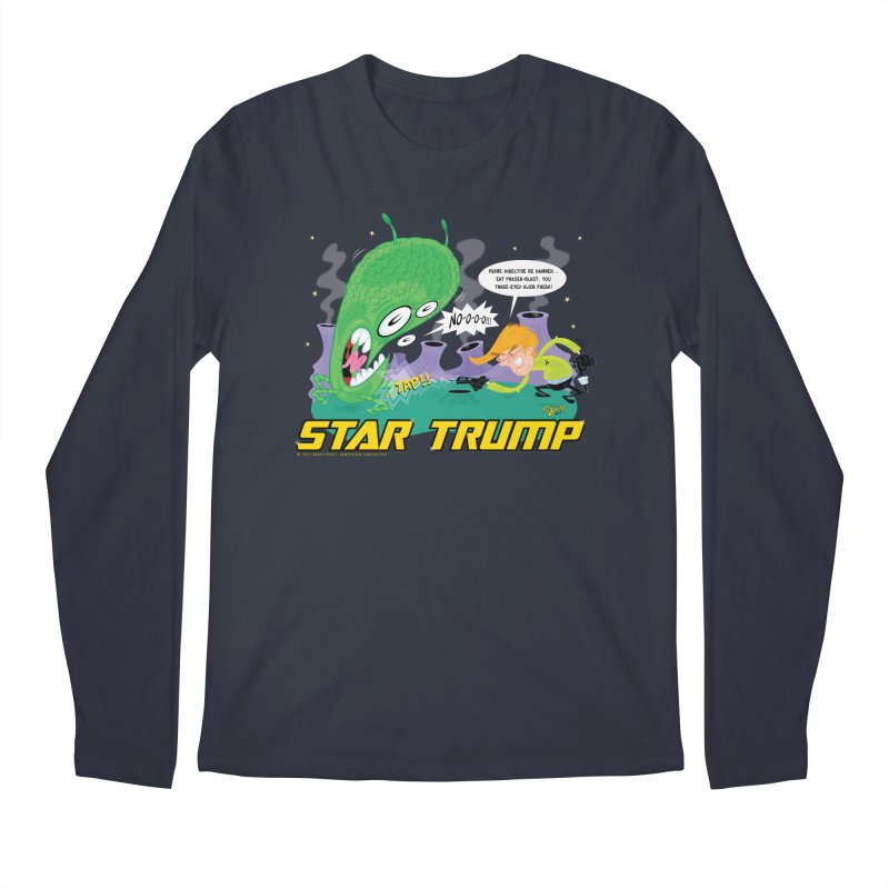Star Trump Men's Longsleeve T-Shirt by righthemispherelaboratory's Shop