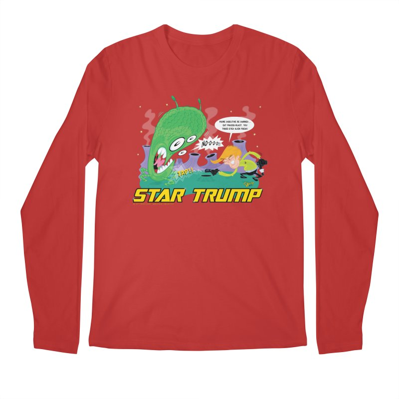 Star Trump Men's Regular Longsleeve T-Shirt by righthemispherelaboratory's Shop