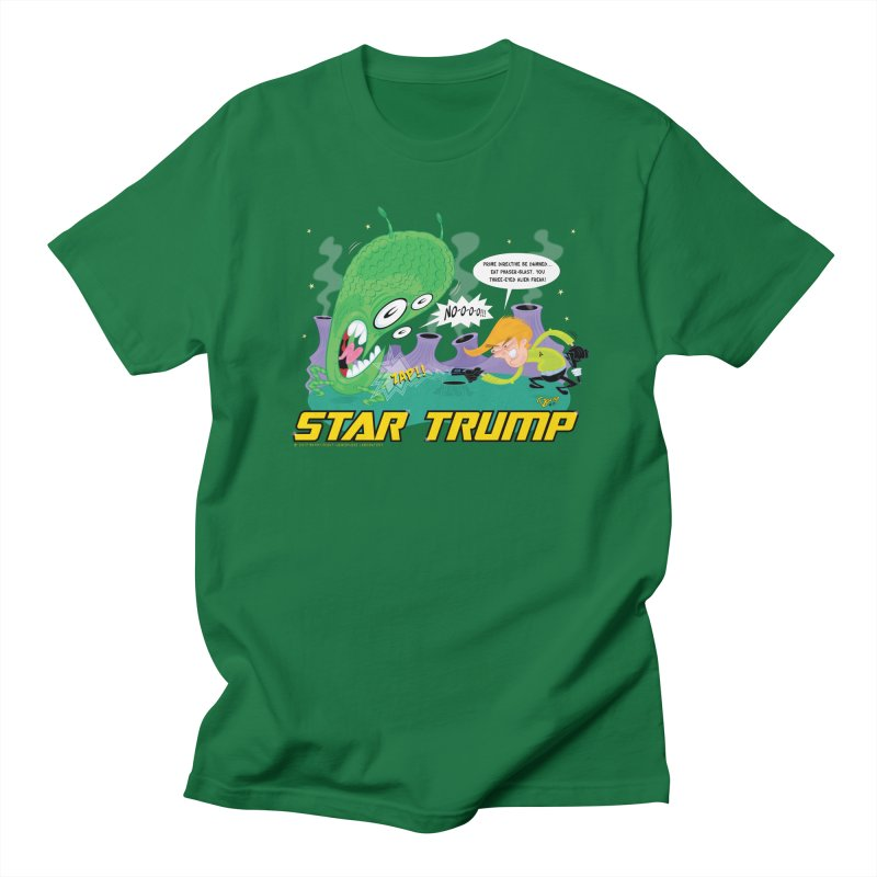 Star Trump Men's Regular T-Shirt by righthemispherelaboratory's Shop