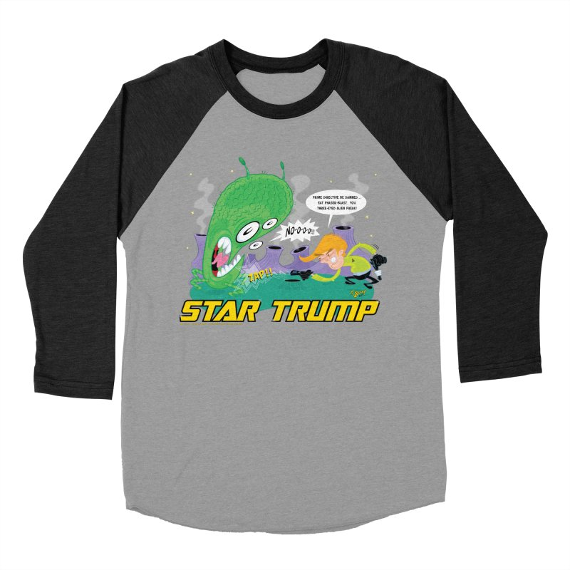 Star Trump Women's Baseball Triblend Longsleeve T-Shirt by righthemispherelaboratory's Shop