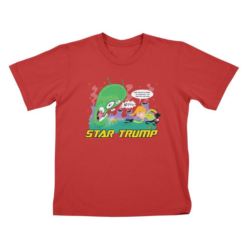 Star Trump Kids T-Shirt by righthemispherelaboratory's Shop