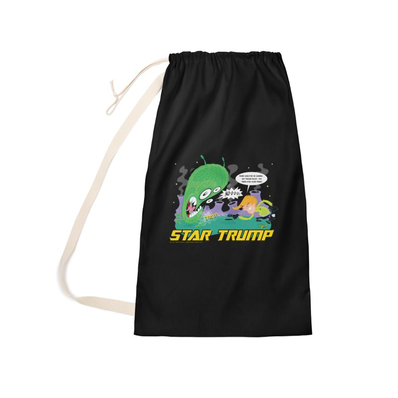 Star Trump Accessories Laundry Bag Bag by righthemispherelaboratory's Shop