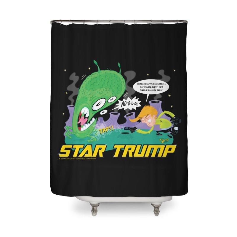 Star Trump Home Shower Curtain by righthemispherelaboratory's Shop
