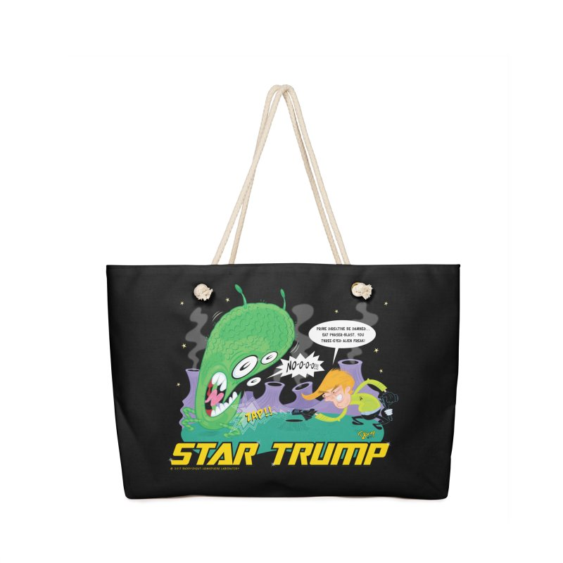 Star Trump Accessories Bag by righthemispherelaboratory's Shop