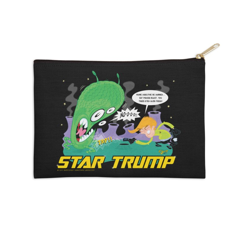 Star Trump Accessories Zip Pouch by righthemispherelaboratory's Shop