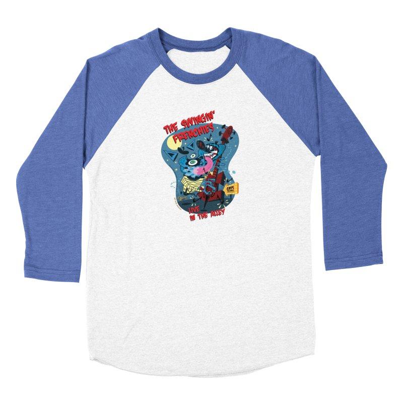 The Swingin' Frenchies Men's Baseball Triblend Longsleeve T-Shirt by righthemispherelaboratory's Shop