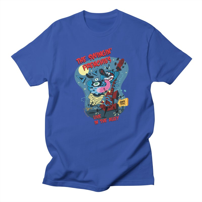 The Swingin' Frenchies Men's T-Shirt by righthemispherelaboratory's Shop