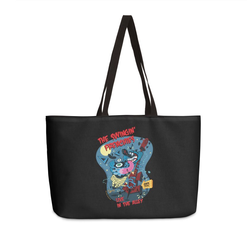 The Swingin' Frenchies Accessories Bag by righthemispherelaboratory's Shop
