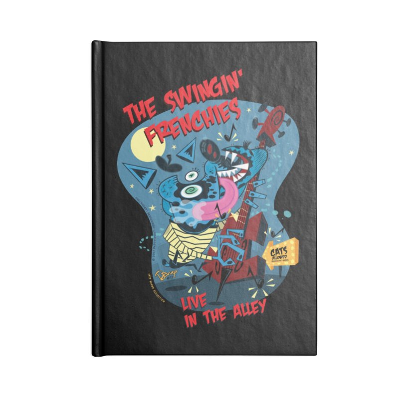 The Swingin' Frenchies Accessories Notebook by righthemispherelaboratory's Shop
