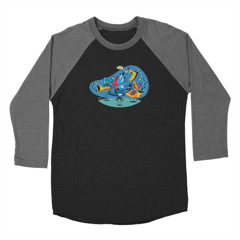 Trading Fours Men's Baseball Triblend Longsleeve T-Shirt by righthemispherelaboratory's Shop