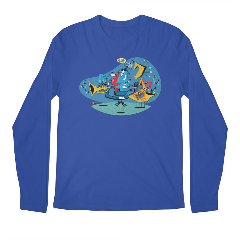 Trading Fours Men's Longsleeve T-Shirt by righthemispherelaboratory's Shop