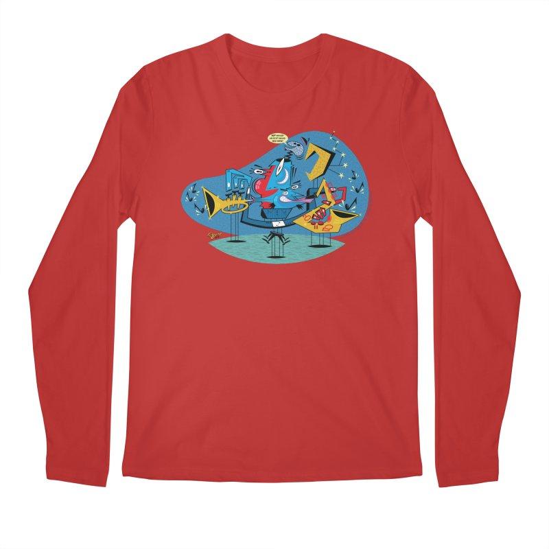 Trading Fours Men's Regular Longsleeve T-Shirt by righthemispherelaboratory's Shop