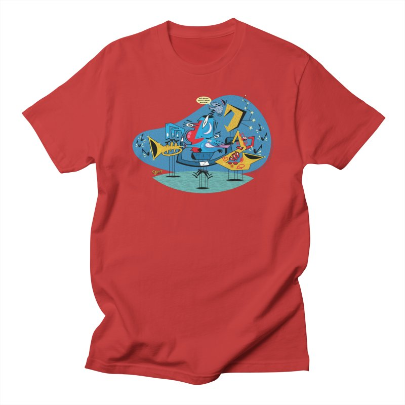 Trading Fours Men's T-Shirt by righthemispherelaboratory's Shop