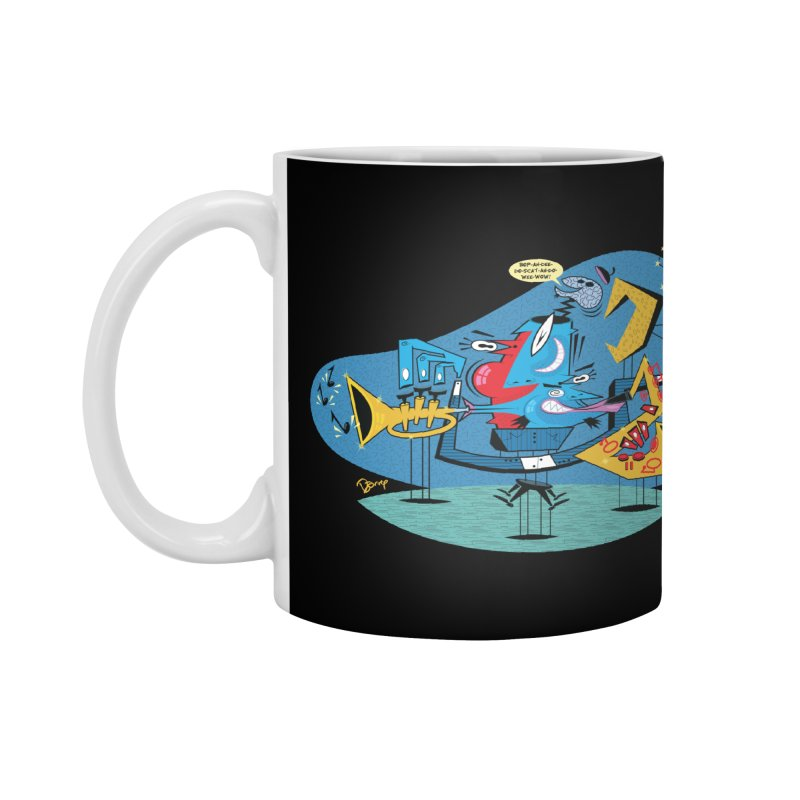Trading Fours Accessories Mug by righthemispherelaboratory's Shop