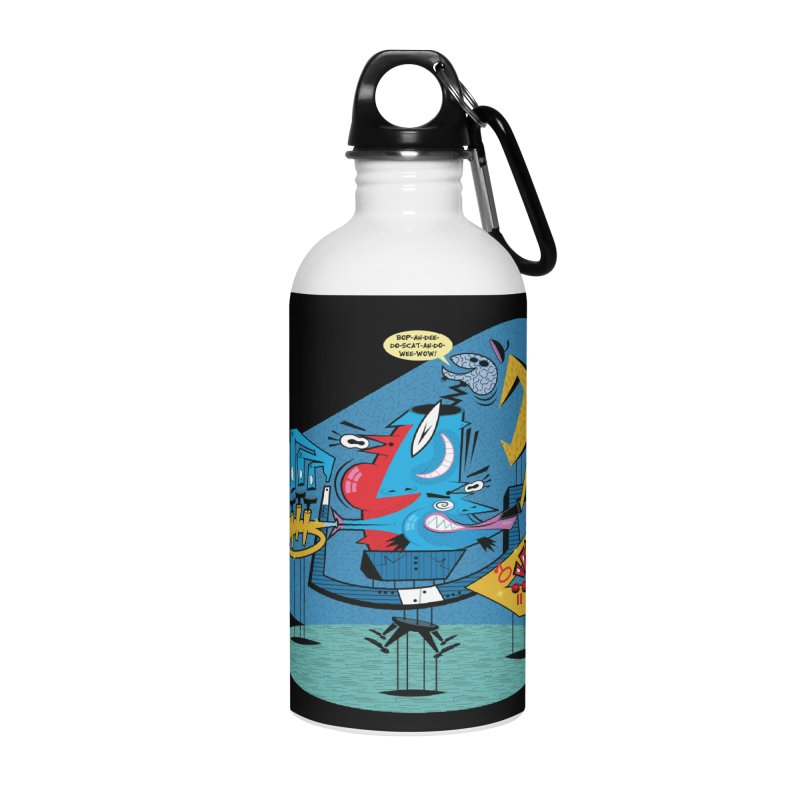 Trading Fours Accessories Water Bottle by righthemispherelaboratory's Shop