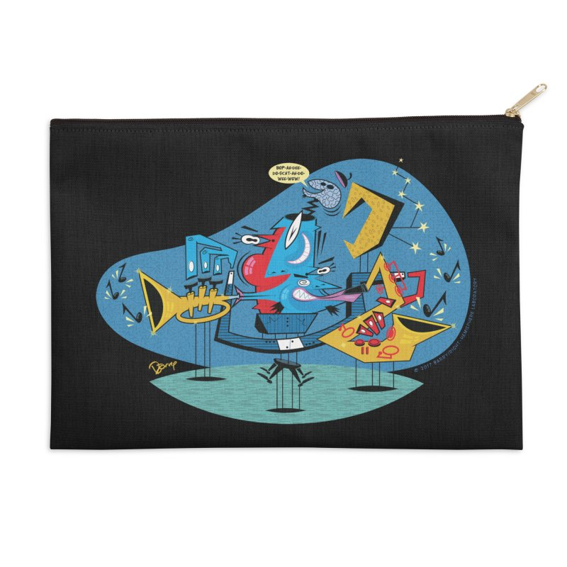 Trading Fours Accessories Zip Pouch by righthemispherelaboratory's Shop