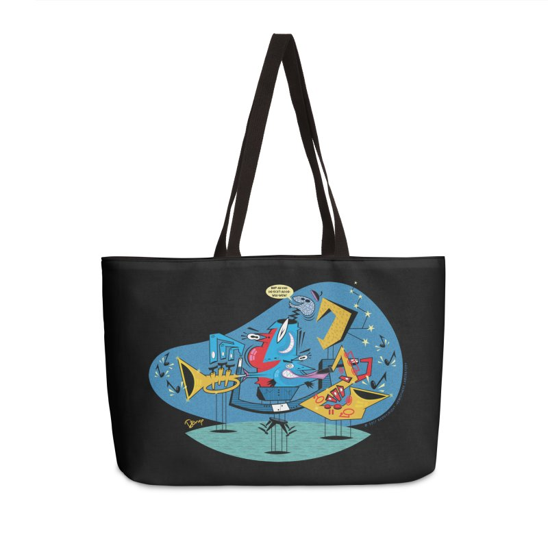 Trading Fours Accessories Weekender Bag Bag by righthemispherelaboratory's Shop