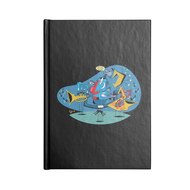 Trading Fours Accessories Notebook by righthemispherelaboratory's Shop