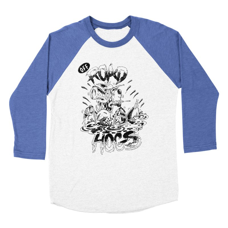 Off-Road Hogs Women's Baseball Triblend Longsleeve T-Shirt by righthemispherelaboratory's Shop